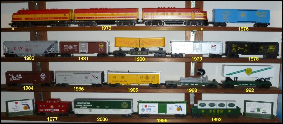 Southern Division SD of the National Train Collectors